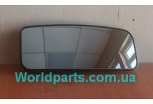 Вкладыш бокового зеркала  L (нижний) MB Sprinter, VW Crafter 2006-