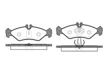 Тормозные колодки задние MB Sprinter/VW LT 96-06