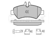 Тормозные колодки задние MB Sprinter/VW Crafter 06-
