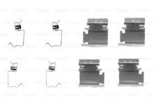 Ремкомплект пружинок задних тормозных колодок