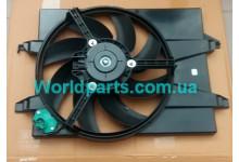 Диффузор радиатора с вентилятором (+AC) Fiesta 1.4TDCI 2002-