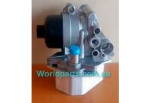 Радиатор масляный в сборе + фильтр (крышка пластмассовая) 2,2HDI 2006-