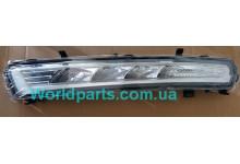 Фонарь дневного света переднего бампера R Mondeo 2011-