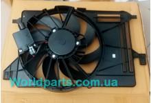 Диффузор радиатора в сборе (+AC) Focus 1.6TDCI 2011-