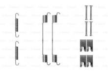 Ремкомплект задних тормозных колодок Bipper/Boxxer/Fiorino