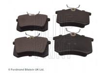 Тормозные колодки задние VW Audi/Galaxsy