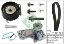 Комплект ремня ГРМ+помпа Fiesta/Fusion/Focus II/Mondeo 1.4/1.6TDCI