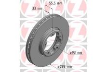 Тормозной диск передний Transit/Tourneo Custom 2.2 2012-