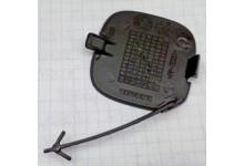 Заглушка буксировочного крюка в заднем бампере Fiorono/Nemo/Bipper