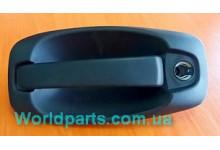 Ручка передней двери наружная R под ключ Fiorino/Nemo/Boxer/Doblo 2008-