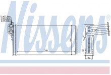 Радиатор печки VW LT 28-35/28-46/MB Sprinter 901/902/903/904
