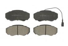 Тормозные колодки передние Ducato,Boxer,Jumper 94-05