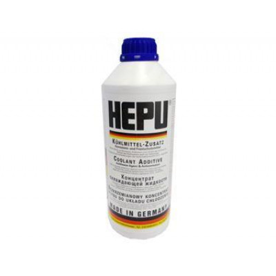 Антифриз HEPU синий концентрат (-80С) 1,5л