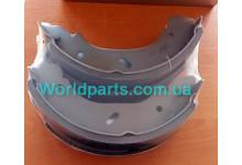 Тормозные колодки задние (барабанные) Transit 2,4RWD 2000-2006 (d=280mm)